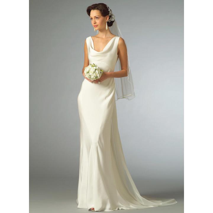 Patron de robe de mariée - Vogue 2965, Mercerie