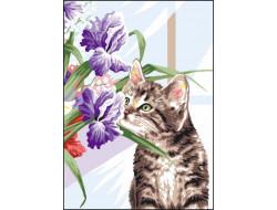 Canevas 32 x 50 - Le chat