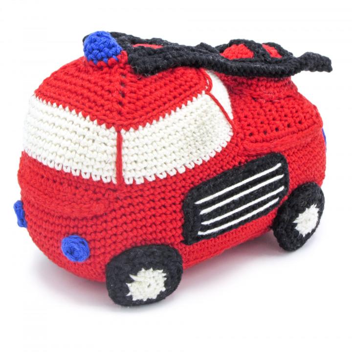 Kit crochet HardiCraft - camion de pompier