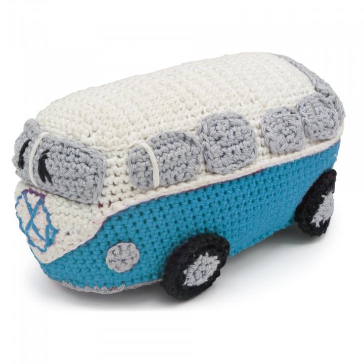 Kit crochet HardiCraft - van rétro bleu