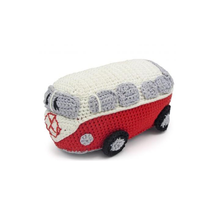 Kit crochet HardiCraft - van rétro rouge