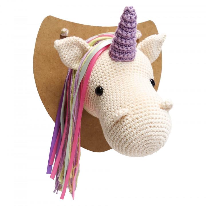 Kit crochet HardiCraft - elsa la licorne