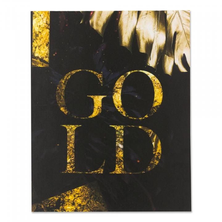 Image à coudre - Gold