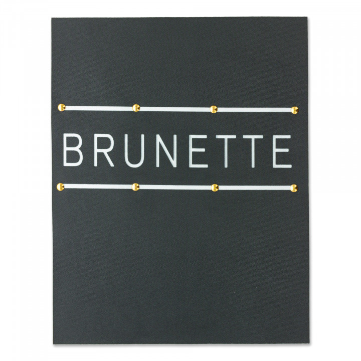 Image à coudre - Brunette