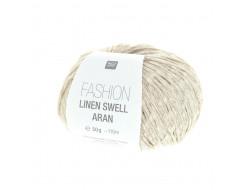 Fil Fashion Linen Swell Aran - 100% laine vierge- Rico