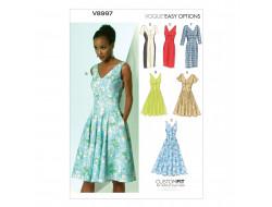 Patron de robe - Vogue 8997