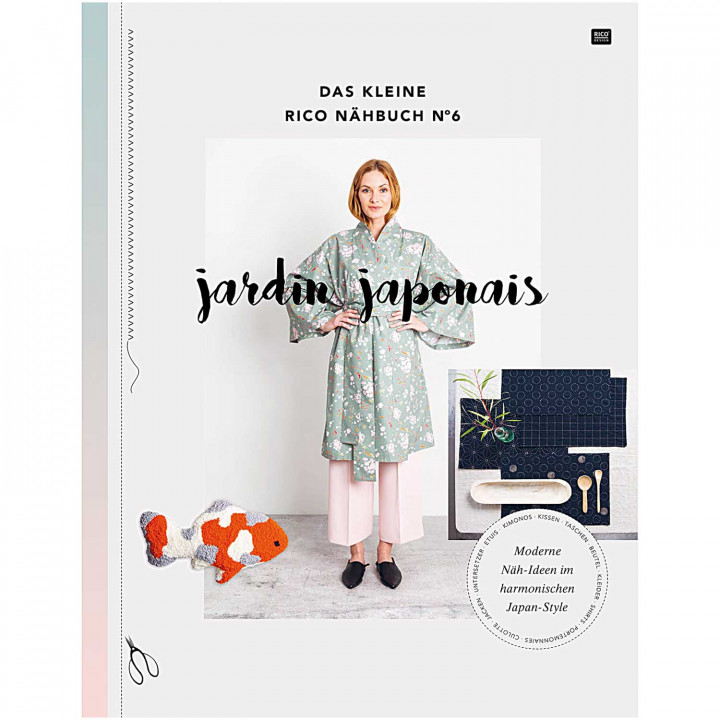 """Le petit livre de couture n°6 """" Jardin japonais """" - Rico Design"""