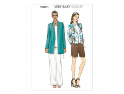 Patron de veste, short et pantalon - Vogue 9011