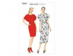 Patron de robe - Vogue 9021