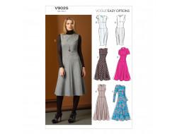 Patron de robe - Vogue 9025
