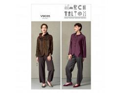Patron de veste et pantalon - Vogue 9035