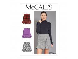 Patron  jupes pour femme McCall's M7845