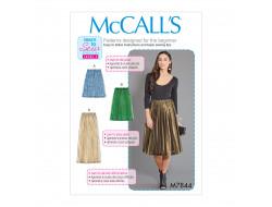 Patron jupes pour femme McCall's M7844