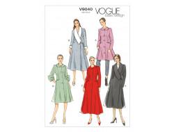 Patron de manteau - Vogue 9040