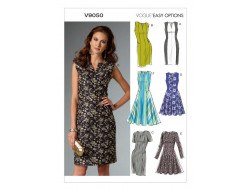 Patron de robe - Vogue 9050
