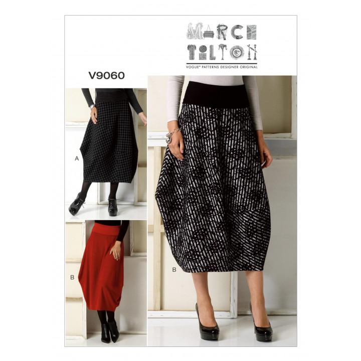Patron de jupe - Vogue 9060