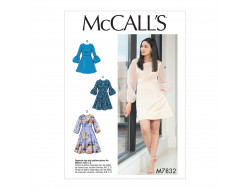 Patron robes femme McCall's M7832