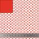 Tissu filet Mesh fabric - rouge