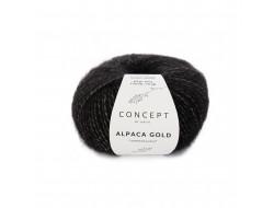 Alpaca Gold Katia Concept - 73% Alpaga Superfin - 20% Polyamide - 7% Polyester
