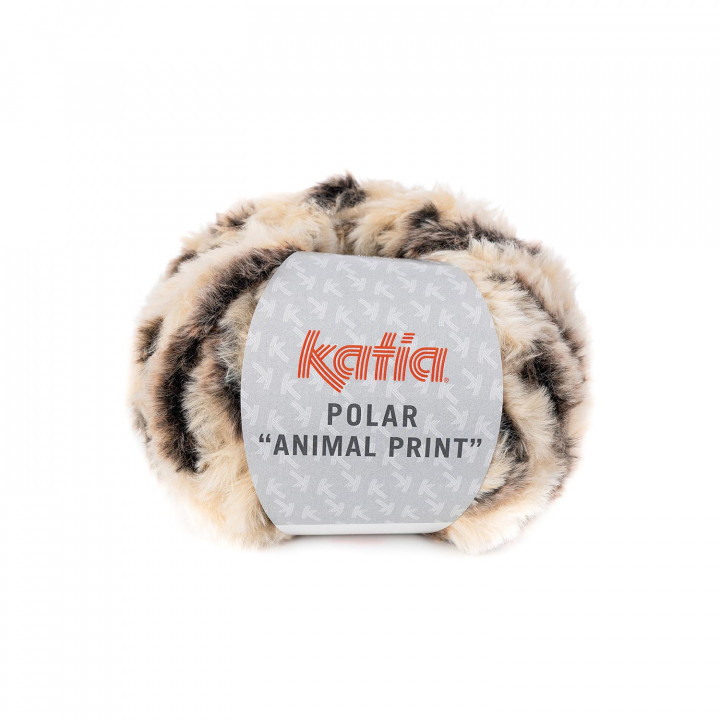 Polar Animal Print Katia - 100% Polyester