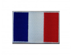 Ecusson thermocollant Drapeau France