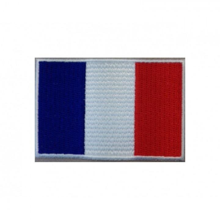 Écusson thermocollant Drapeau France