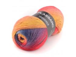 Mandala Plassard - 85% acrylique, 15% laine