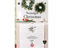 168 - Livre point de croix Nostalgic Christmas, RICO