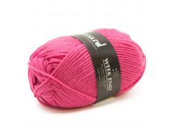Fil Week-End de Plassard 50% laine, 50% acrylique