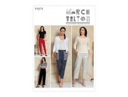 Patron de pantalon - Vogue 9374