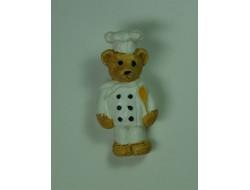 Bouton ourson cuisinier