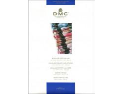 Carte coloris Mouliné et Perlé DMC
