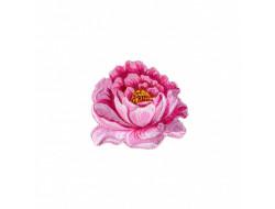 Écusson thermocollant - Fleur rose