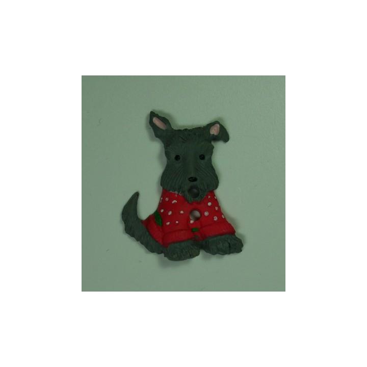 bouton fantaisie chien d coratif mercerie floriane. Black Bedroom Furniture Sets. Home Design Ideas