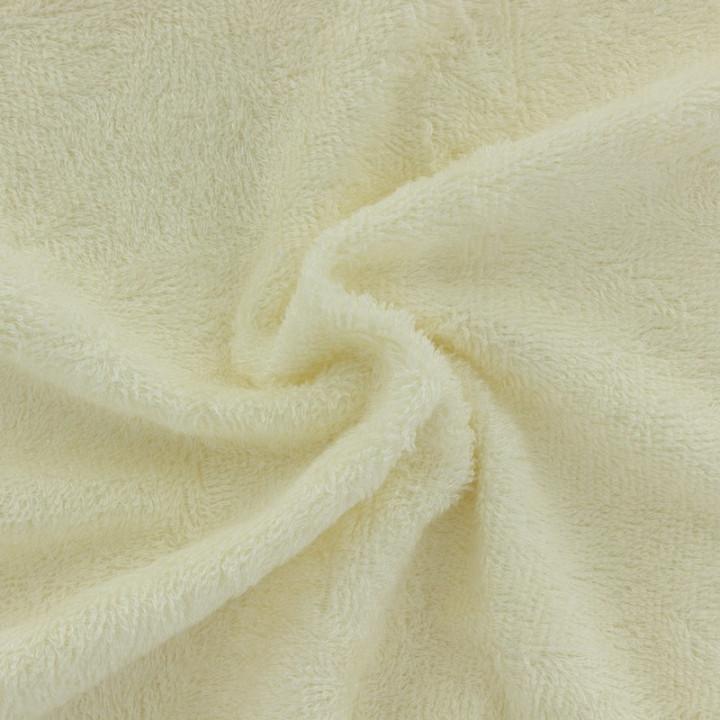 Tissu éponge bambou bio écru