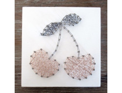 Kit stringart Cerises rose gold