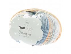 Fil Rico Baby Dream dk (50 gr) 50% Acrylique 50% Polyamide