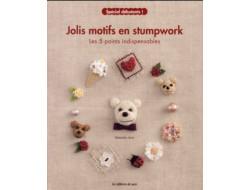 Jolis motifs en stumpwork - Spécial débutants