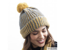 Modèle bonnet femme - Katia