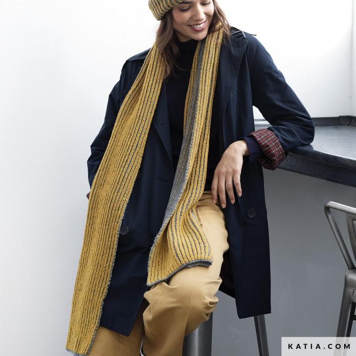 Modèle écharpe femme - Katia