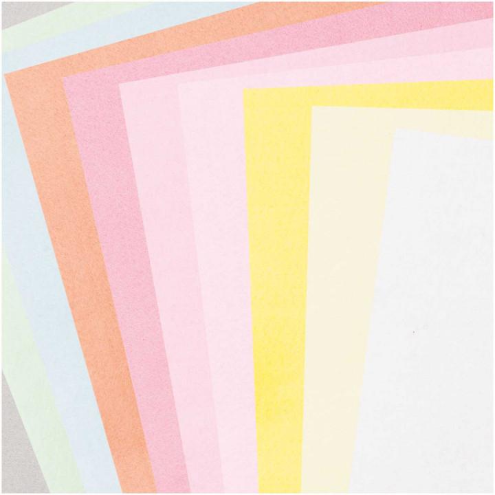 Plaques de feutre Pastel - Rico Design