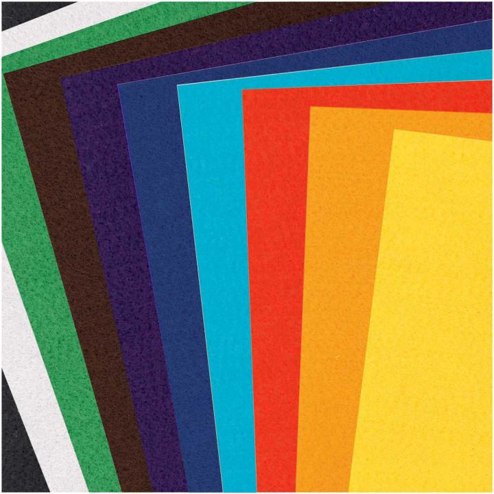 Plaques de feutre Basic - Rico Design