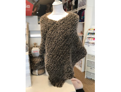 Poncho 2 fils - Polar & Fashion alpaca dream