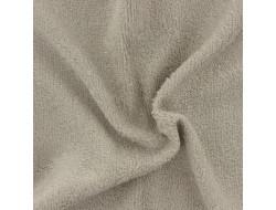Tissu éponge bambou bio noisette