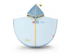 Cape de bain - Dragon bleu