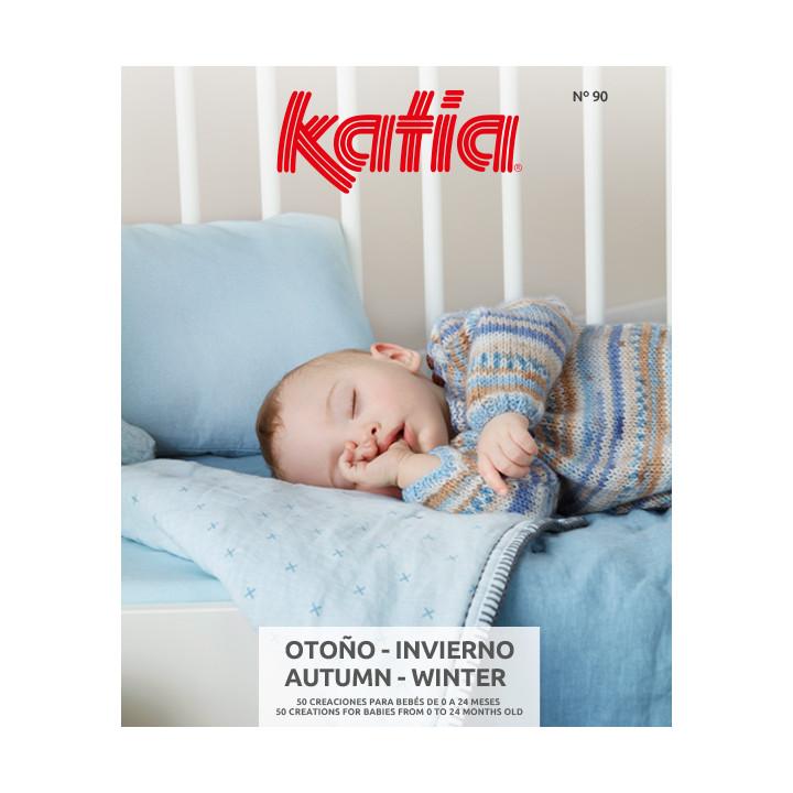 Magazine Katia N°90 Créations pour bébé