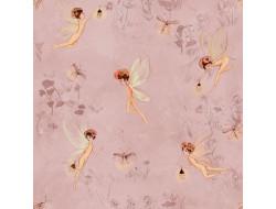 Tissu popeline de coton Fairies - Katia Fabrics