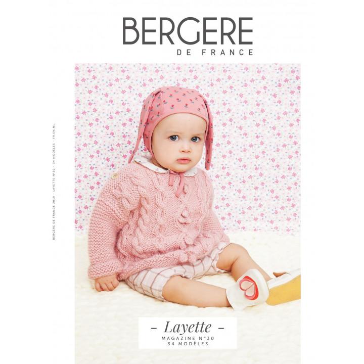 Magazine Layette n°30 - Bergère de France