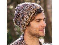 Bonnet Homme - Inca Ice Katia
