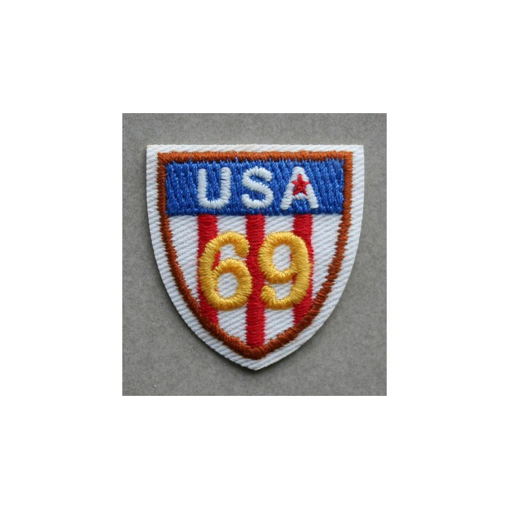 Ecusson thermocollant USA 69